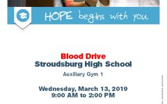SHS to hold Red Cross blood drive this week!