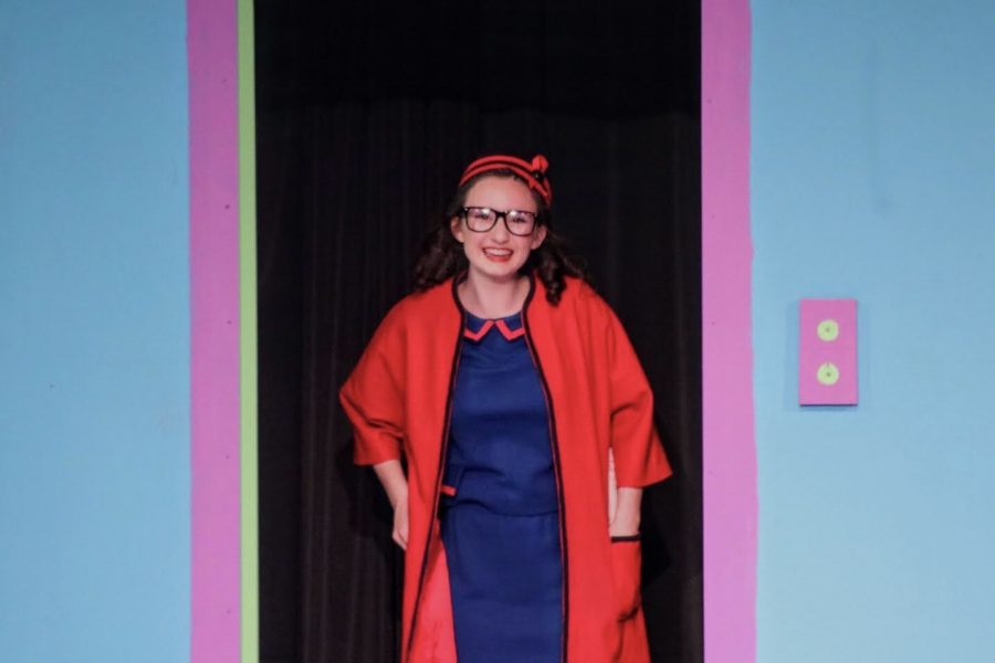 Photograph by Lia Parker from last year's school musical,