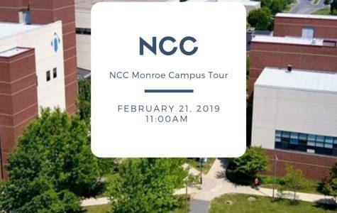 NCC Monroe Campus Tours: 2/21/19 (11 a.m.)