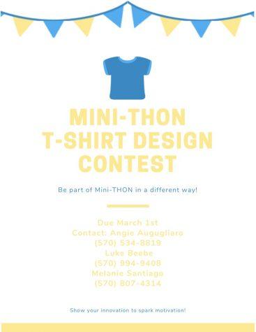 Mini-THON T-shirt Design Contest: (3/1/19)