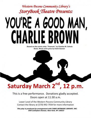 You're a good man, Charlie Brown: 3/2/19 (12 p.m.)