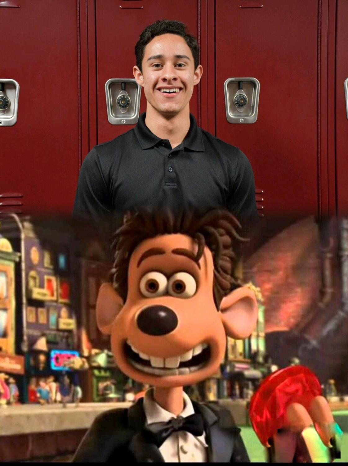 Kevin Kraemer  as Roddy from the movie Flushed Away