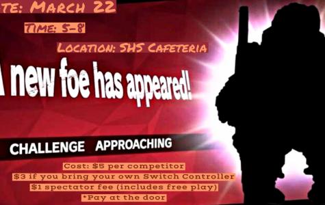 Smash Bros Challenge: 3/22/19 (5 p.m. –  8 p.m.)