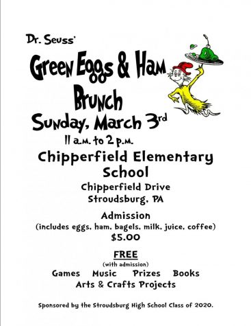 Enjoy Dr. Seuss' Green Eggs and Ham Brunch this Sunday