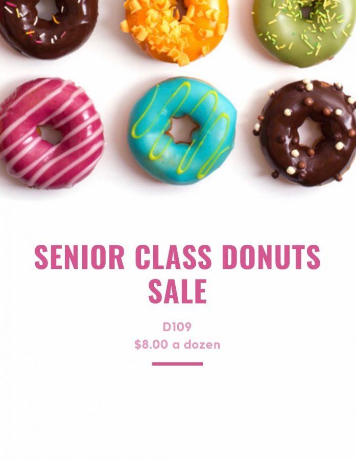 Senior Class Donuts Sale