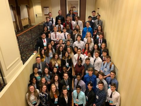 Numerous FBLA students earn recognition at leadership conference