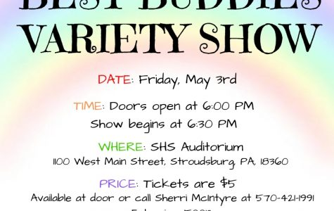 SHS Best Buddies Variety Show: 5/3/19 (Door opens at 6:00 p.m. and show begins at 6:30 p.m.)