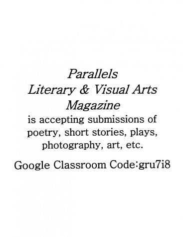 Parallels Literary & Visual Arts Magazines Submissions