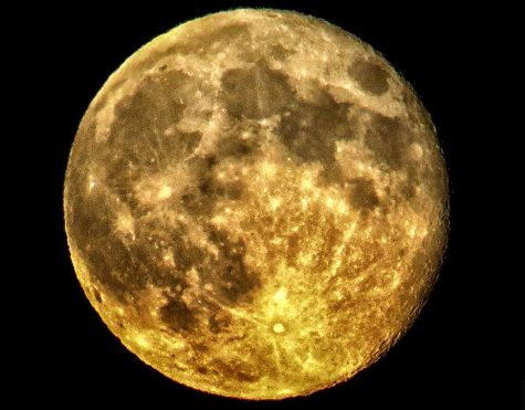 The Moon written by junior Valerie Camacho