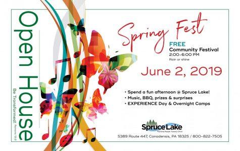 Spring Fest Open House: 6/2/19 (2:00 p.m.- 6:00 p.m.)