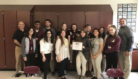 "SHS newspaper awarded ""Distinguished Site"" status"