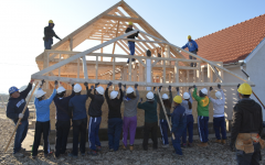 Habitat for Humanity helps people work their way into homes