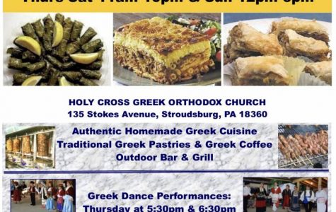 Greek Food Festival: 6/6/19 – 6/9/19