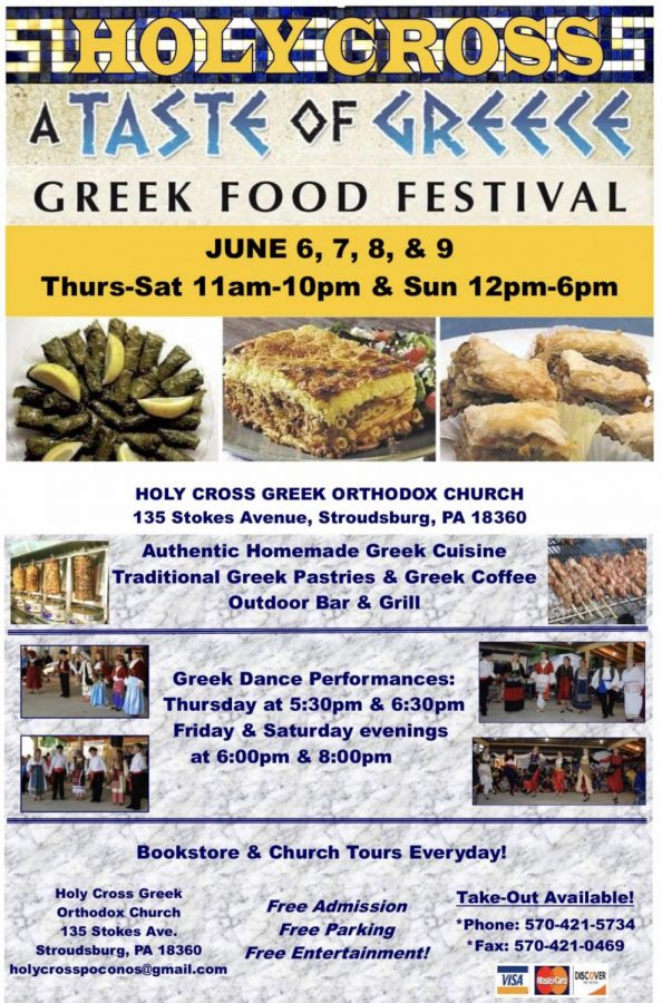 Greek Food Festival: 6/6/19 - 6/9/19