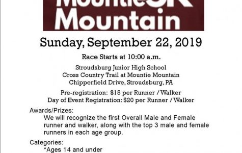 Mountie 5K Mountain on Sept. 22