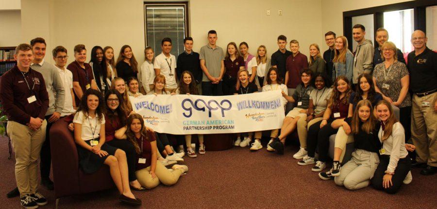 German students visit Stroudsburg High School