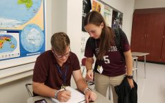Peer Tutoring available in SHS library