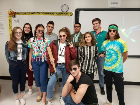 Students show their SHS pride during spirit week