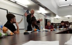 SHS students meet with SASD Superintendent