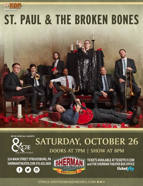 Accomplished Southern Band to perform at the Sherman Theater