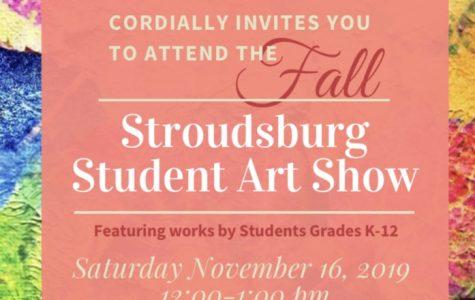 Stroudsburg Student Art Show