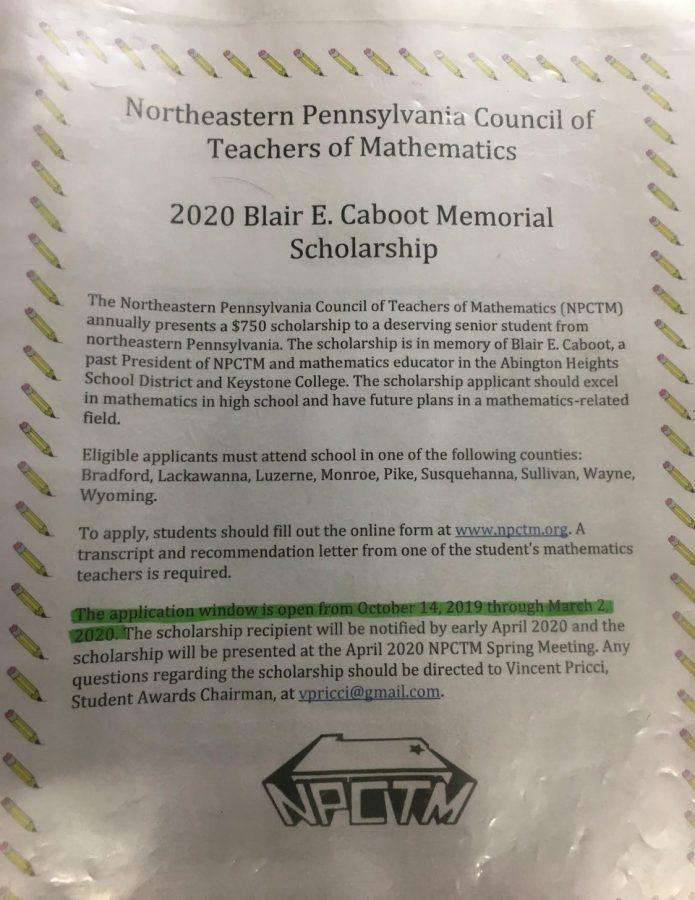 2020+Blair+E.+Caboot+Memorial+Scholarship