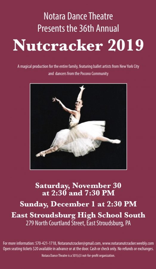 Notara Dance Theatre  Presents Nutcracker 2019