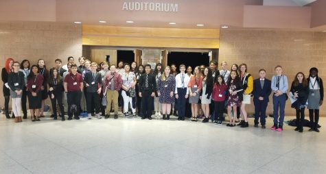 Stroudsburg Junior High School students experience Model Congress
