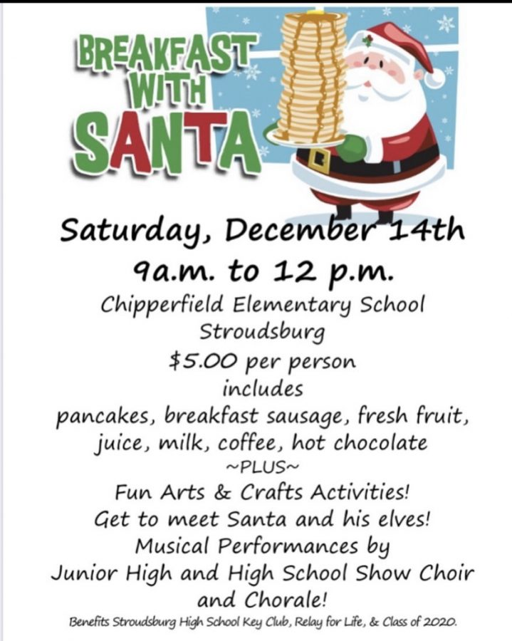 Breakfast with Santa this Saturday at Chipperfield Elementary School