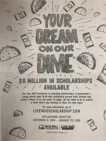 Taco Bell Foundation Scholarship