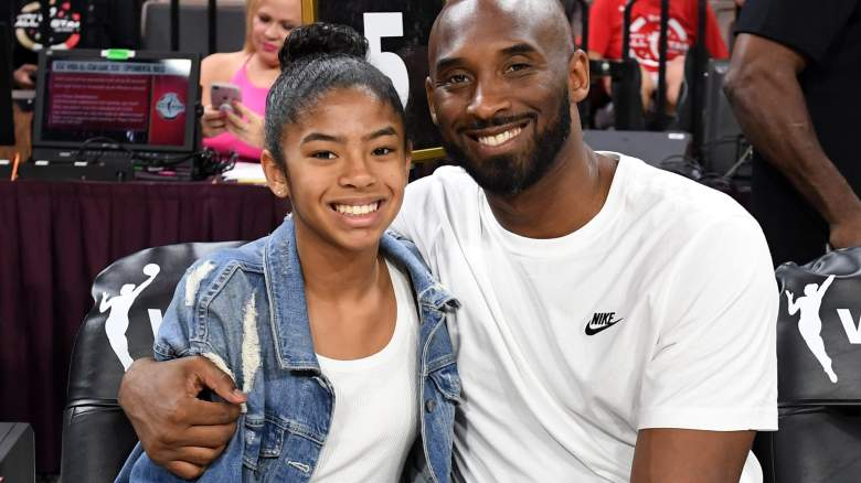 "Kobe Bryant and his daughter Giana ""GiGi"""