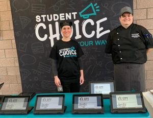 "Chartwells holds ""Student Choice Event"" in SHS cafeteria"