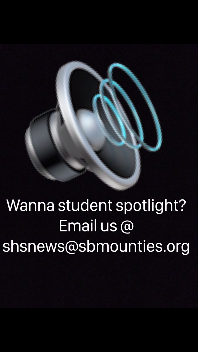 Student Spotlight Flyer made by Tyler Stone.