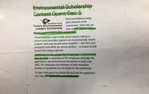 Environmental scholarship