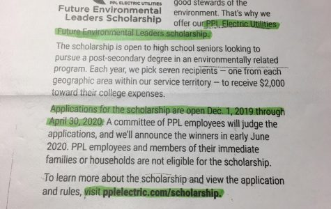 Future Environmental Leaders Scholarship