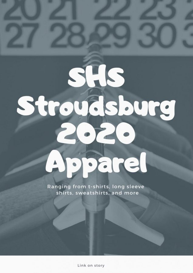 Stroudsburg High School Class of 2020 Apparel