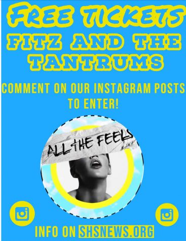 "WIN FREE tickets to see sensational band ""Fitz and the Tantrums"""