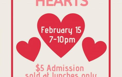 King of Hearts Dance: 2/15/20 (7 P.M.-10 P.M.)
