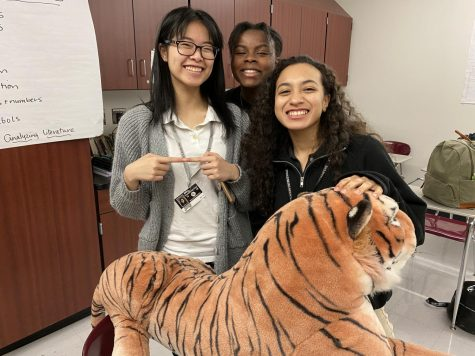 Photo of the Day- Today is the LAST day in the March Madness contest to take a picture with all three stuffed animals. Make sure to take a picture with the animals by the end of the day if you want to win!