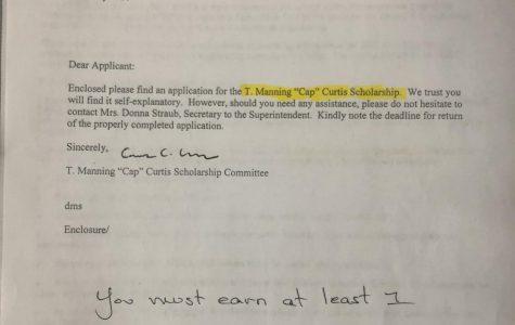 "T.Manning ""Cap"" Curtis Scholarship"