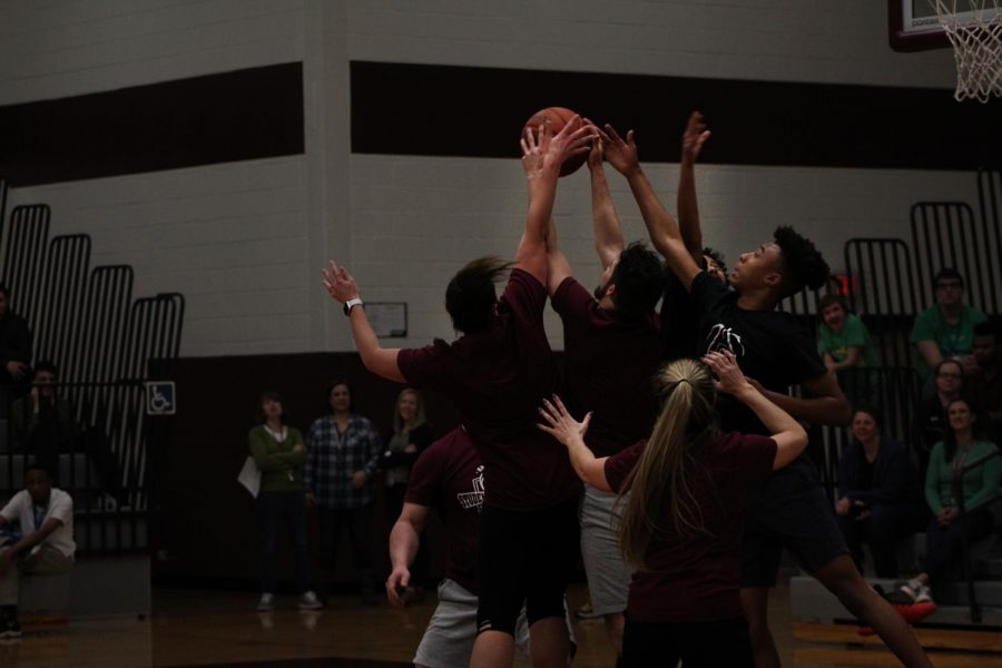 Photo gallery of Student vs. Faculty Basketball Game!