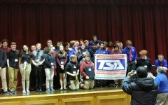 2019-2020 SHS TSA members at the Regional conference held at the Junior High this past January.