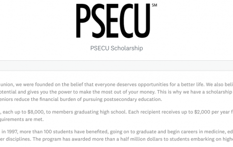 PSECU scholarship (Due: 02-26-21)