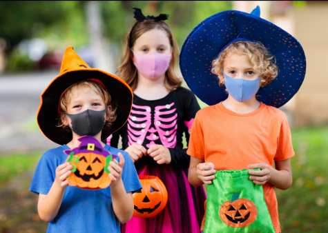 These children take on Halloween safely