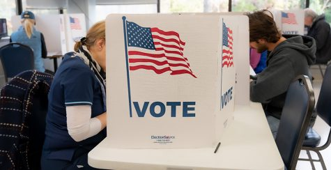 Voters take to the polls.