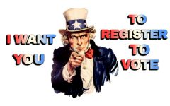 Student Government rallies seniors to register to vote