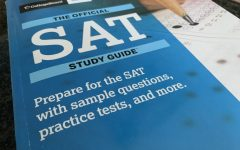 Official SAT study guide workbook.