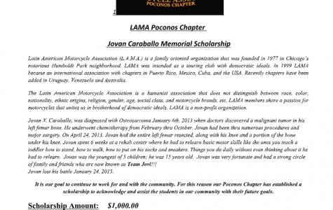 Lama scholarship (Due 04-15-21)