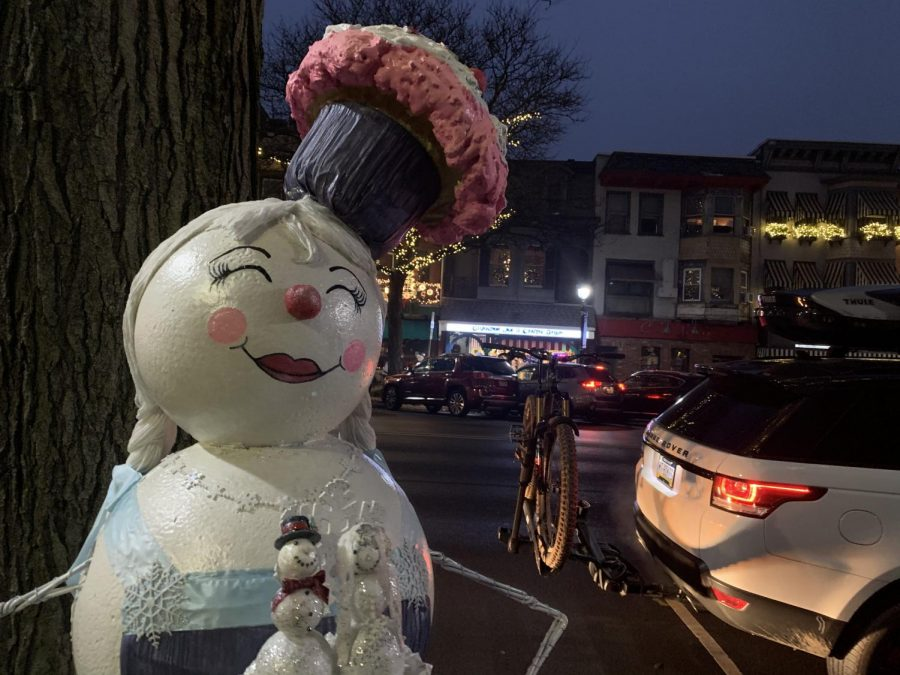 Snowman representing Kitchen Chemistry.