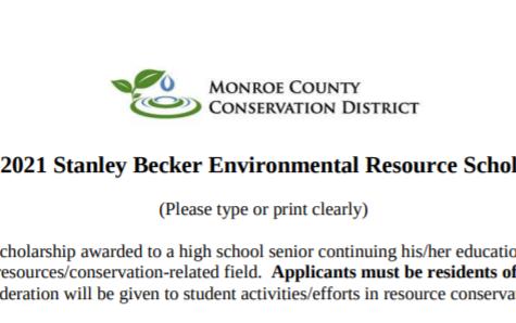 Stanley Becker Resource Scholarship (Due 4-2-21)